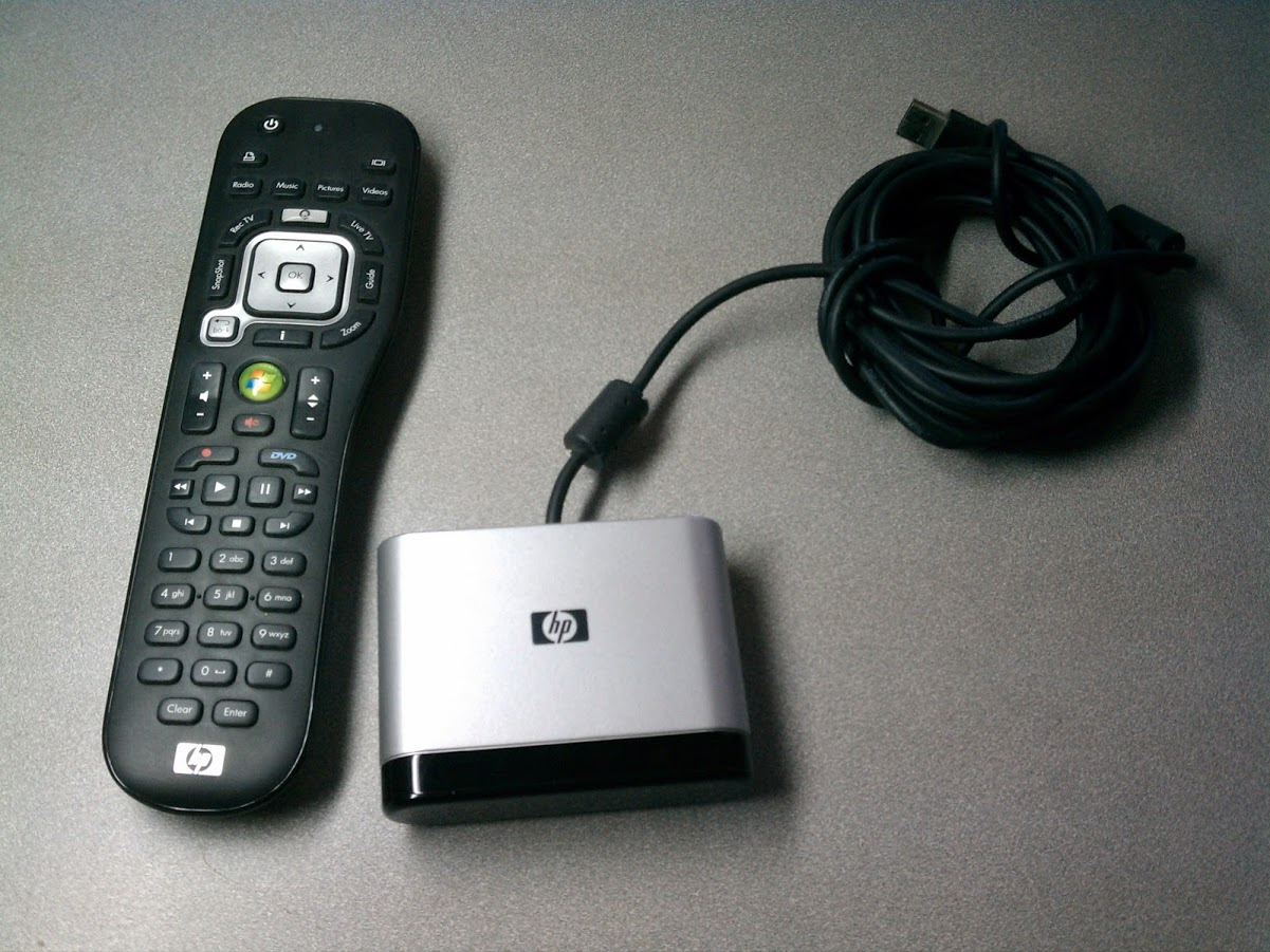 HP MCE USB IR Remote